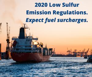 Low sulfur Emission Regulations